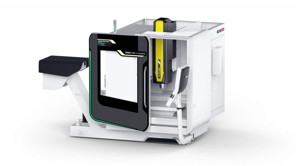 CAD visualisation: DMG Mori DMC 635V eco