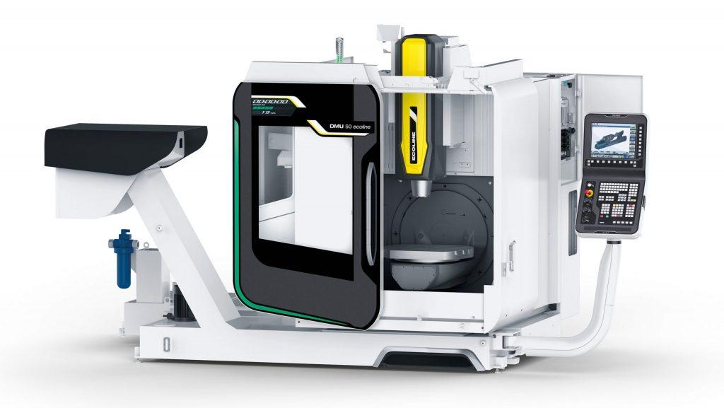 CAD visualisation: DMG-Mori DMU 50 eco