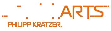 Logo: ScratchARTS, Philipp Kratzer, Houdini FX-TD