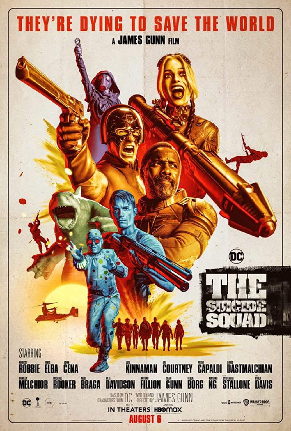 Movieposter: The Suicide Squad